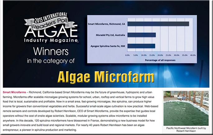 AIM Algae Microfarm